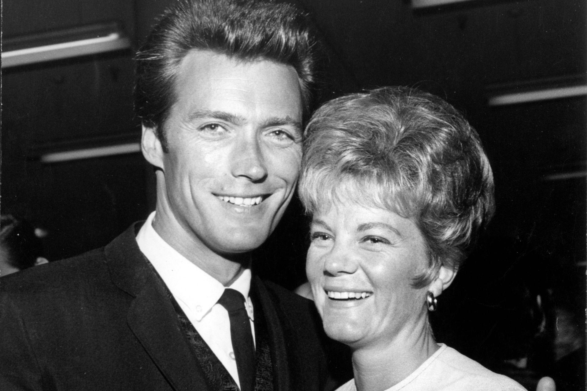 Clint Eastwood y Maggie Johnson, un amor de juventud