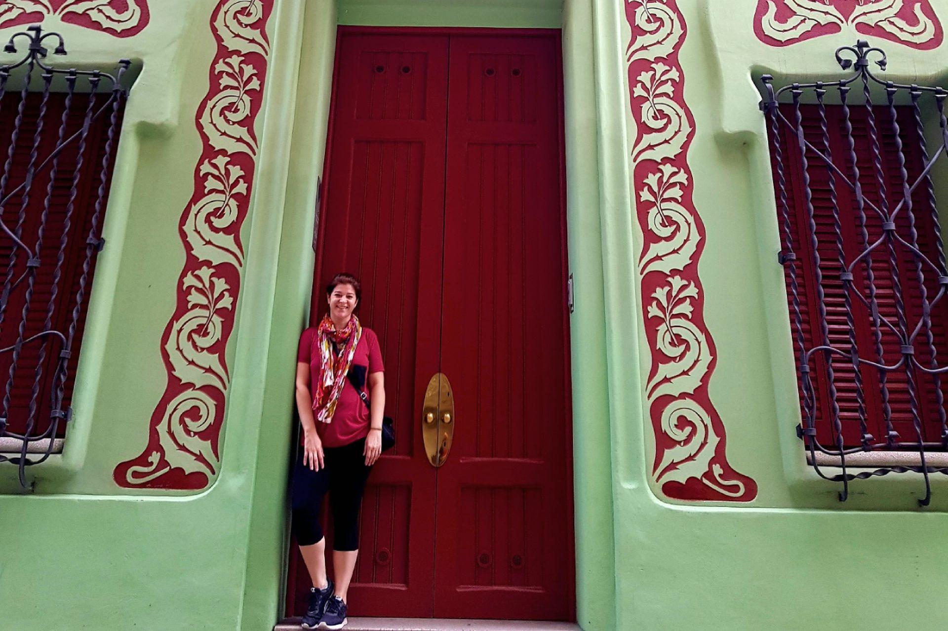 La Argentina, Alejandra Ferreiro hoy vive en Barcelona. En la foto, la Casa Padua, en el Distrito de Gracia, Barcelona.