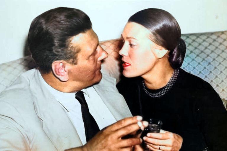 Skorzeny vivió tranquilamente en Madrid junto a su joven esposa Ilse Lüthje, sobrina del ministro de finanzas del Tercer Reich