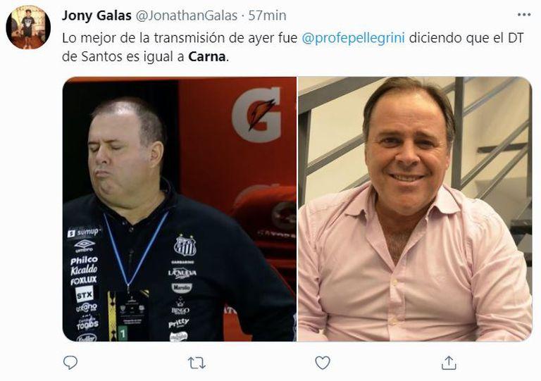 En Twitter, los usuarios también notaron el parecido de Marcelo Fernandes con el humorista Carna
