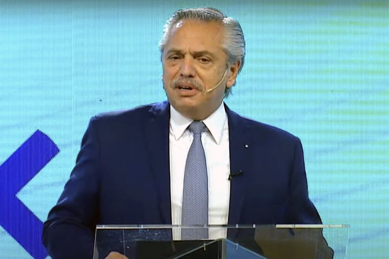 """Alberto Fernández: """"No existe otro remedio que la inversión privada para lograr un desarrollo sostenible"""""""