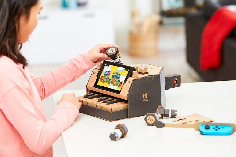 Labo, una serie de accesorios de cartón para armar que habilitan nuevos juegos en la consola Switch