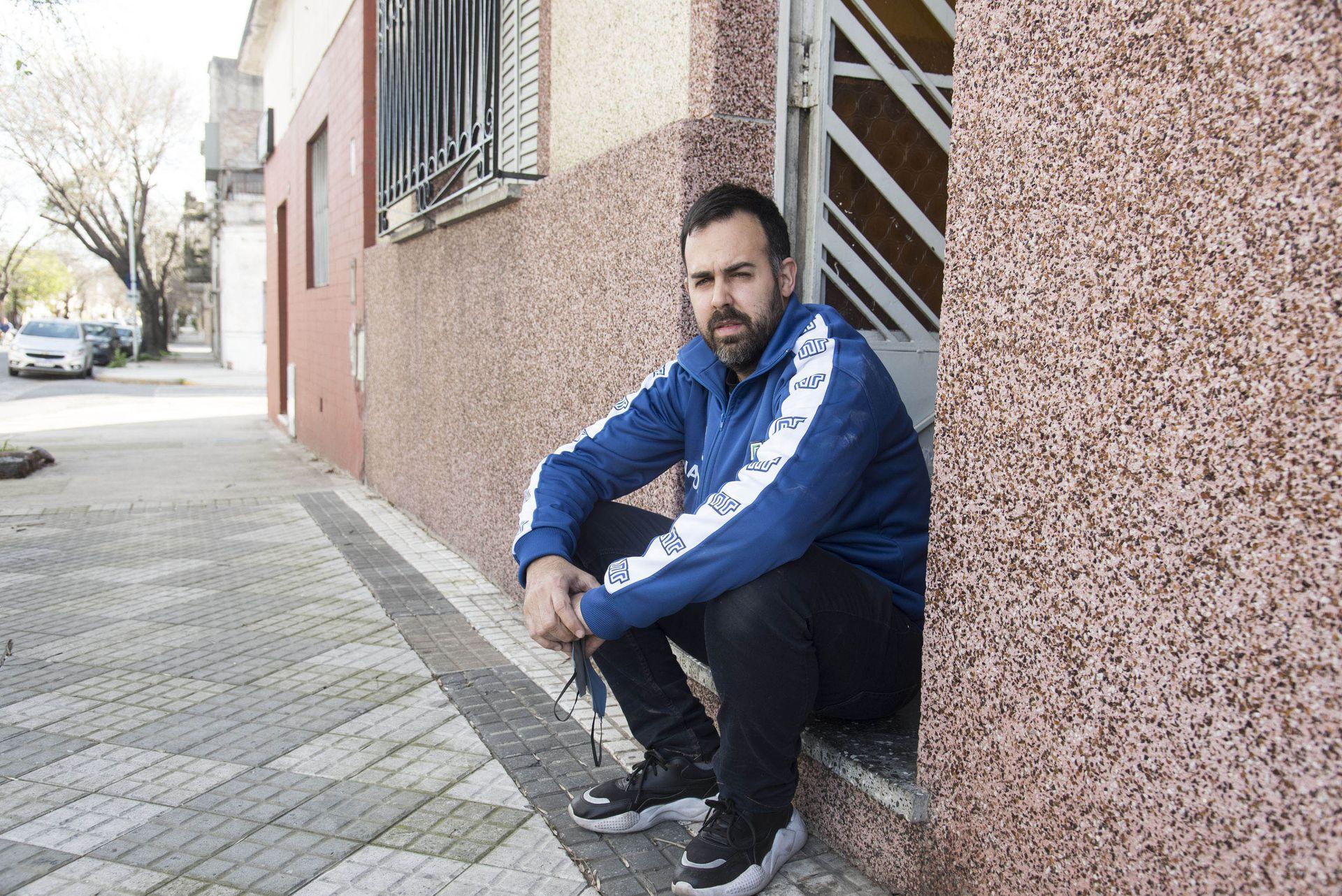 De chiquilín te miraba de afuera: César Pérez Dursi, en la primera casa de Maradona.
