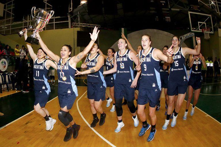 La selección femenina de básquetbol es campeona del Sudamericano tras 70 años