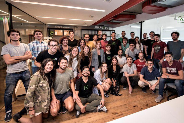 El equipo de Increase, una startup que supo hacerse su lugar en el mundo