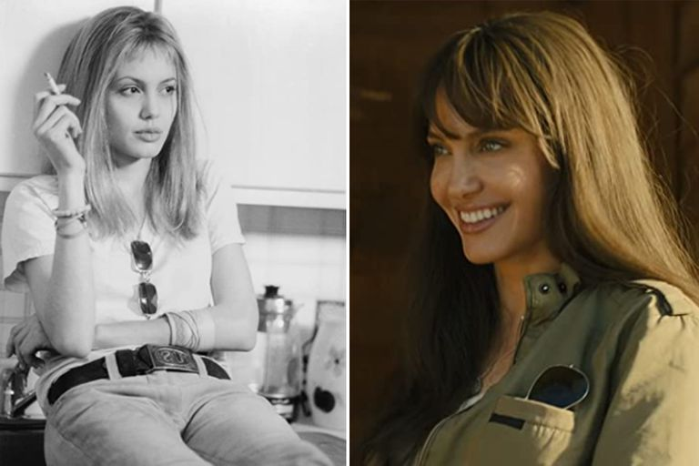 Angelina Jolie en Inocencia interrumpida, al los 24 años, y en Aquellos que quieren mi muerte, de 2020
