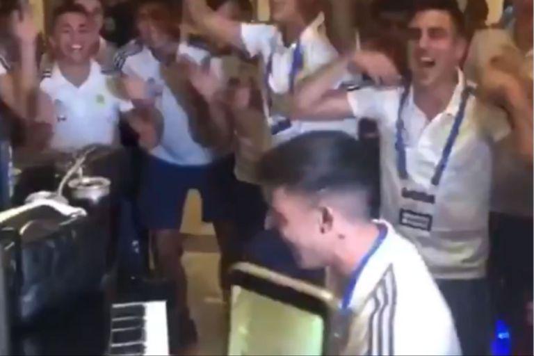 Preolímpico: la Sub 23 festejó a pura cumbia y un jugador sorprendió en el piano
