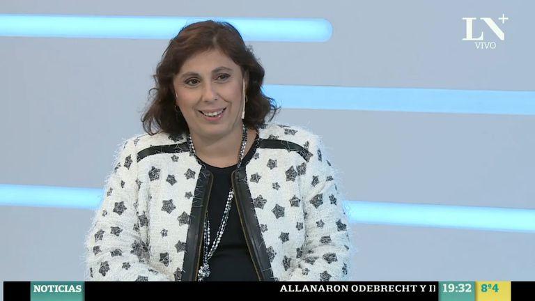 Paula Oliveto estuvo en LN+ (foto de archivo)