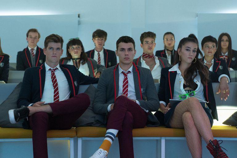La cuarta temporada de la serie Élite sigue liderando lo más visto de Netflix