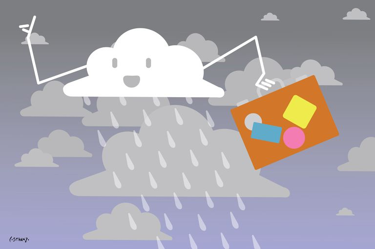 Pronóstico del tiempo: la lluvia vuelve a casa
