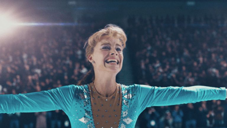 Margot Robbie como Tonya Harding