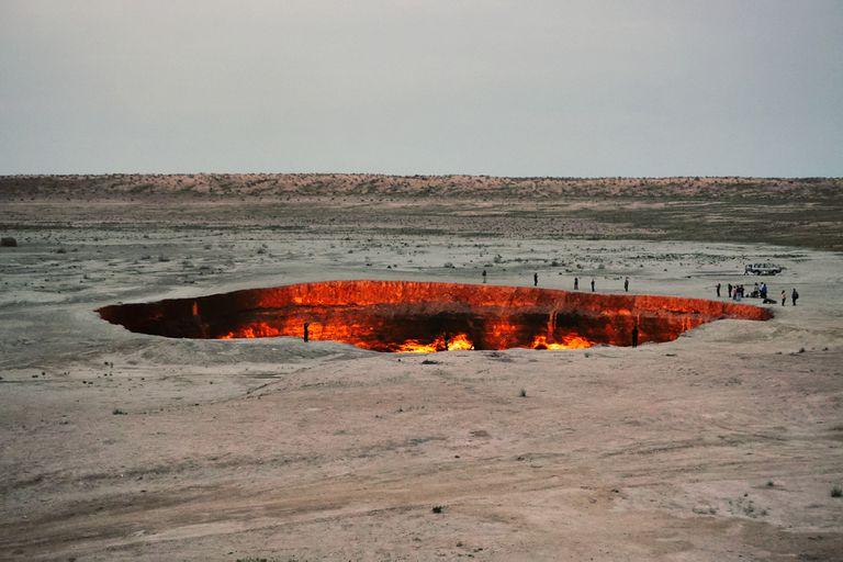 Las cuevas dinamitadas estaban conectadas a yacimientos de gas natural