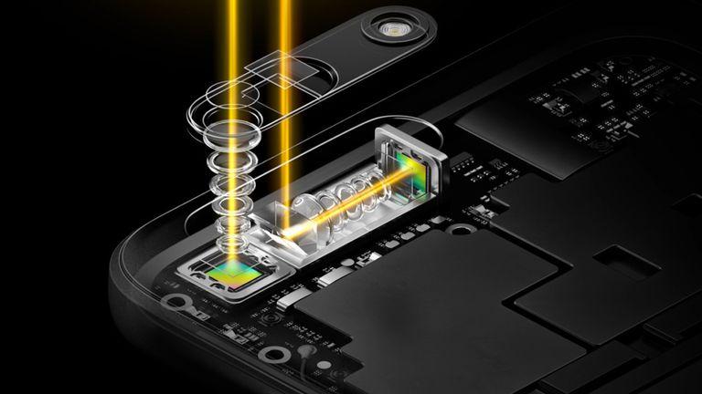El sistema de doble lente y prisma ideado por Oppo