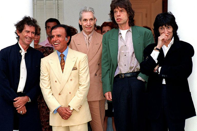 La muerte de Charlie Watts: el día que los Rolling Stones conocieron a Menem