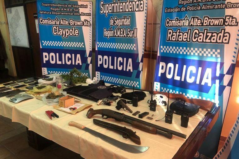 Allanamientos a un peligroso clan narco de Rafael Calzada