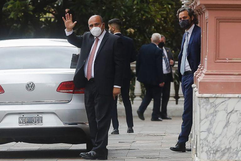 Manzur encabeza la primera reunión de Gabinete de su gestión