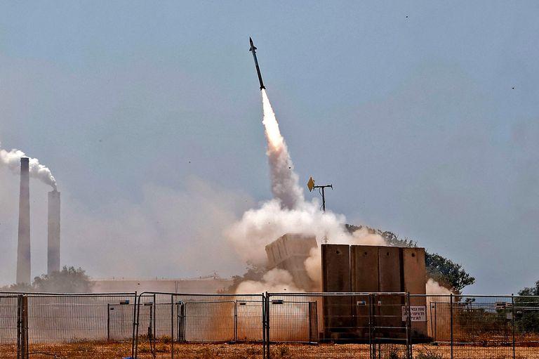 El sistema de defensa israelí Cúpula de Hierro