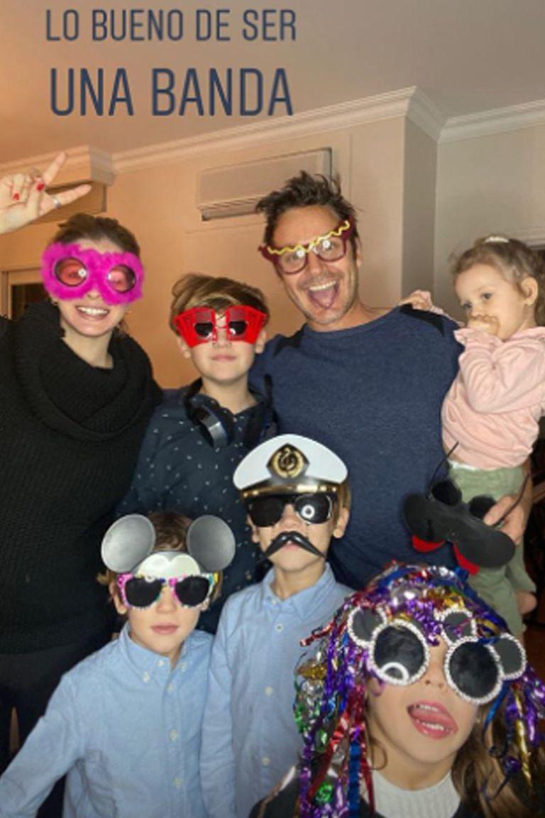 Benjamín Vicuña subió una storie a su Instagram donde se mostró feliz por el octavo cumpleaños de su hijo Beltrán