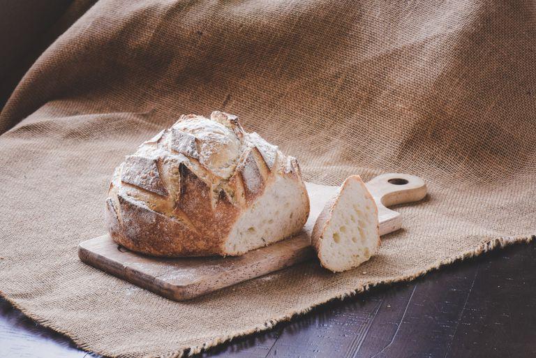 Pan de campo con grasa
