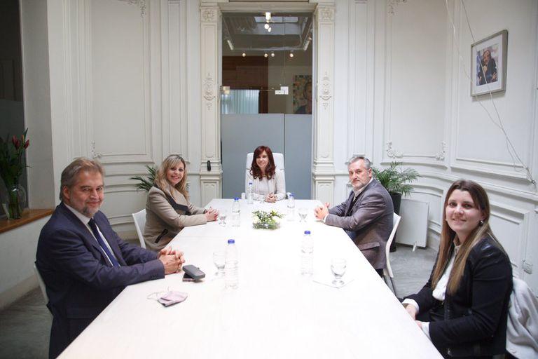 Cristina Kirchner publicó una sugestiva foto