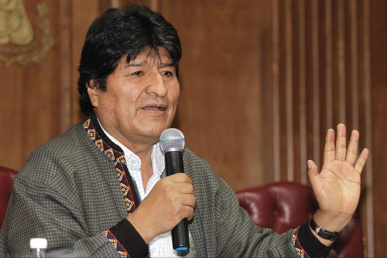 El exmandatario de Bolivia llegó hoy al país