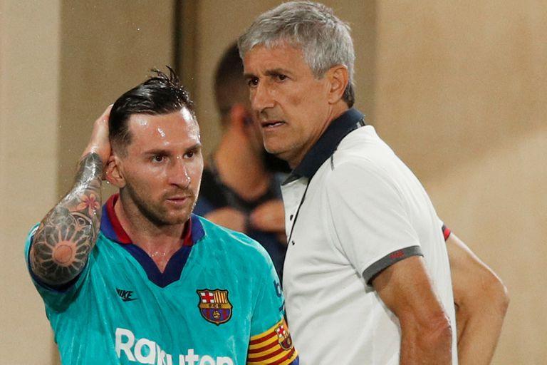 """Barcelona. Un DT expuso la dura relación con Messi: """"Ves cosas que no esperás"""""""