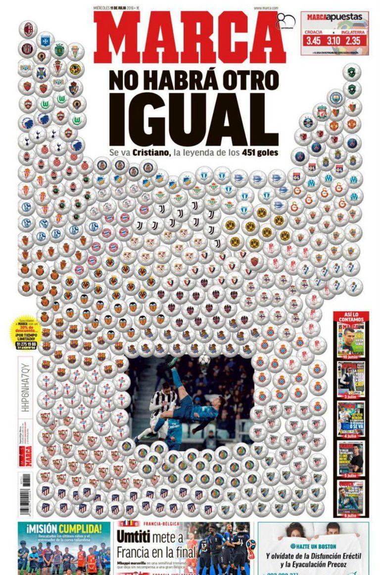 La tapa del miércoles: los 451 goles de la leyenda