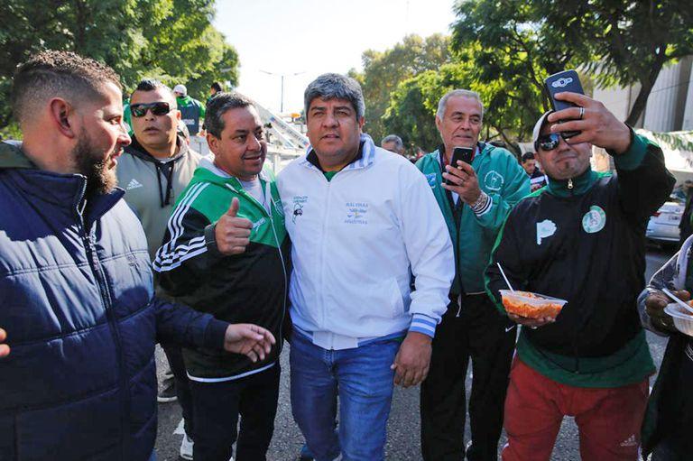 Hugo Moyano le respondió a Macri con insultos