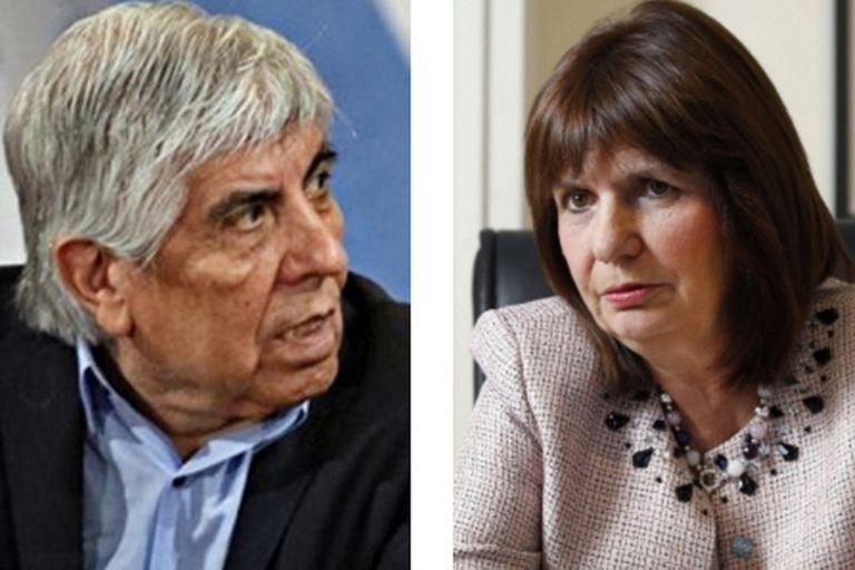 """Moyano atacó a Patricia Bullrich por su """"interés por llegar a Independiente"""""""