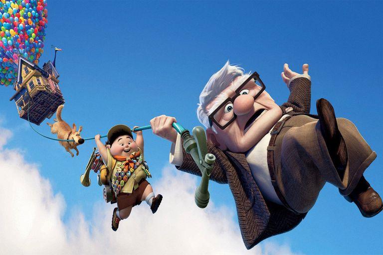 Up, una aventura de altura, de Pete Docter, una de las joyas del estudio de animación, cuyo catálogo completo puede descubrirse en streaming en estas fiestas
