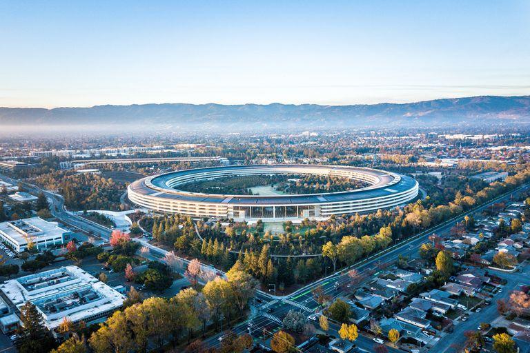 Los headquarters de Apple son uno de los emblemas de Silicon Valley