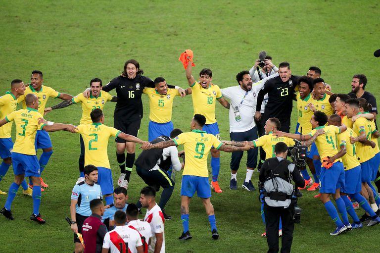 Todo para Brasil: venció 3-1 a Perú y se consagró campeón de la Copa América