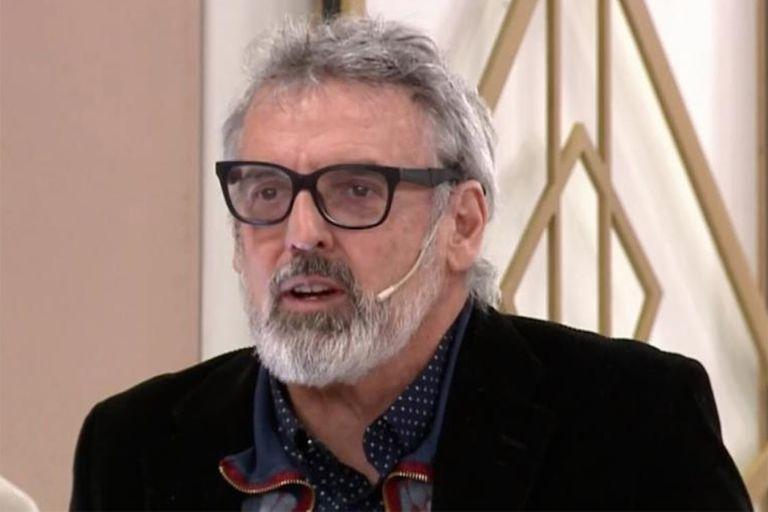 La tristeza de Benito Fernández por la muerte de Sofía Sarkany