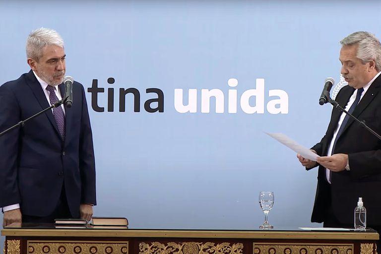 La primera diferencia entre Aníbal Fernández y Sergio Berni