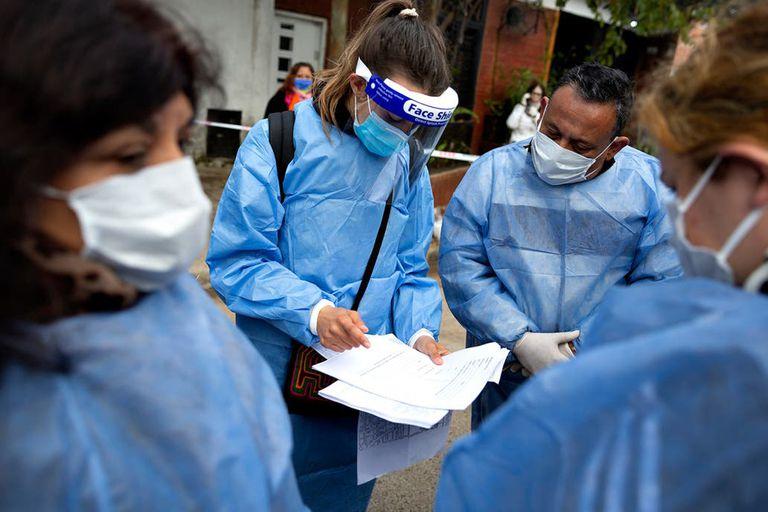 Confirmaron 12 casos en La Boca, en el tercer día del operativo DetectAr