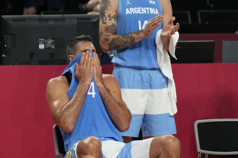 Las lágrimas de Scola, tras salir del equipo