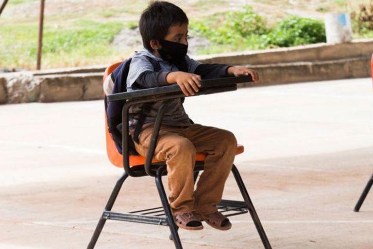 El 60% de los niños en la región perdieron el año debido a la pandemia.