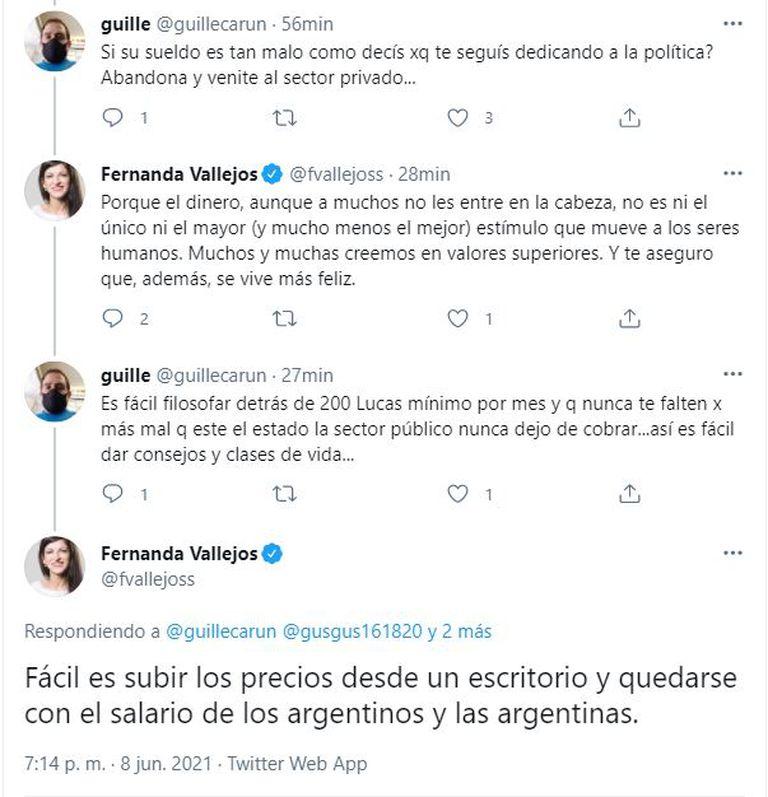 Fernanda Vallejos Twitter