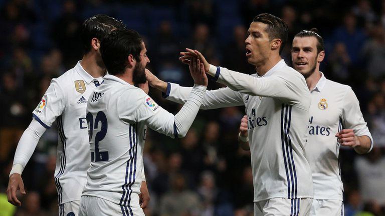Cristiano Ronaldo, siempre listo para el gol
