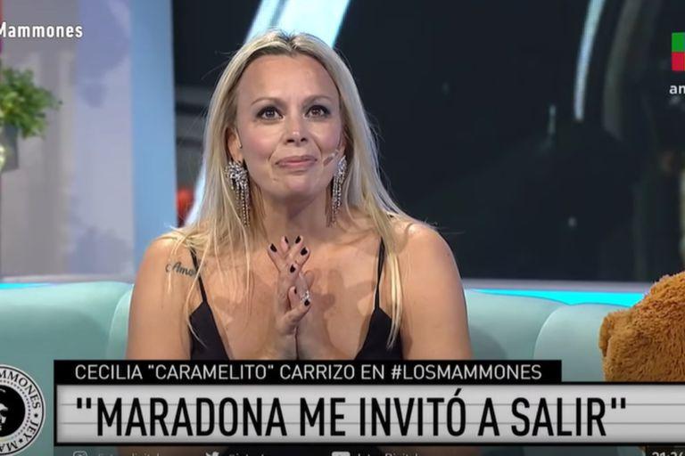 Caramelito Carrizo contó por qué rechazó salir con Diego Maradona