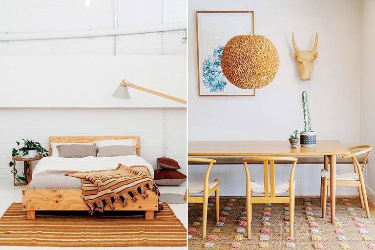 """""""Combinamos lo étnico con muebles u objetos más modernos"""""""