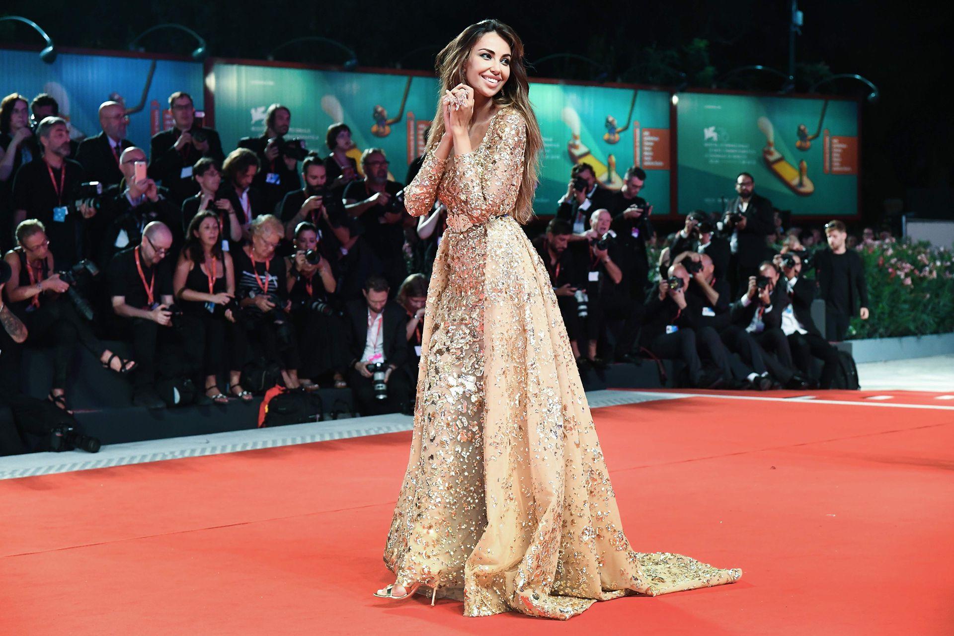 La actriz y modelo rumana Madalina Ghenea