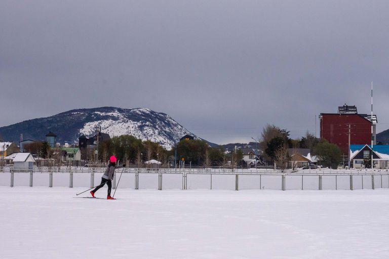 Esquí urbano: una nueva experiencia en Ushuaia para disfrutar la nieve