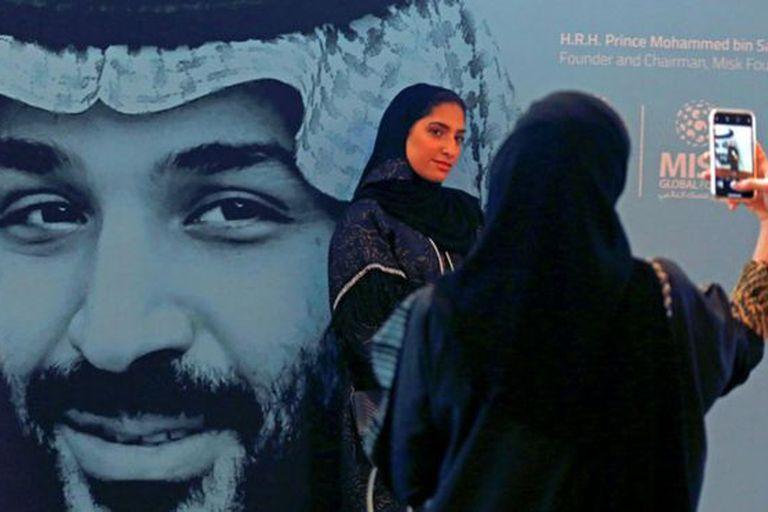 Mohamed bin Salman es el actual príncipe heredero de Arabia Saudita