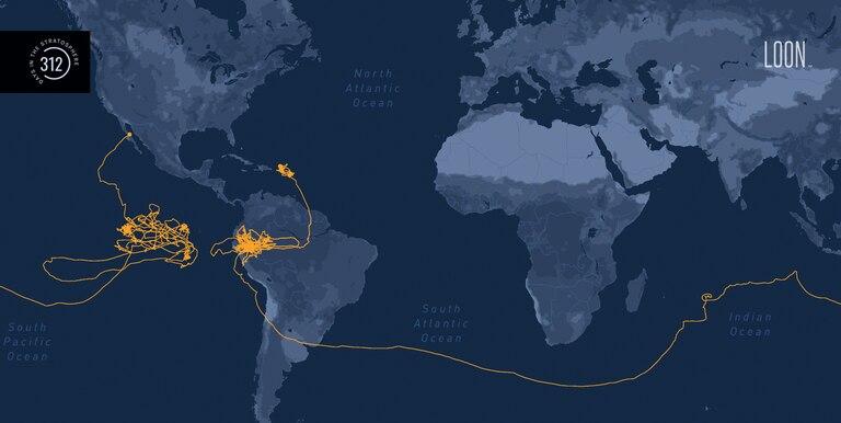 En octubre de 2020, la compañía confirmó que uno de sus globos había estado 312 días volando alrededor del mundo, usando las corrientes de aire de la estratósfera para viajar