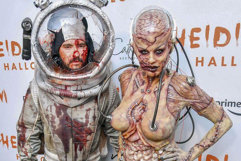 Halloween: del extraordinario traje de Heidi Klum al dulce disfraz de Mirko