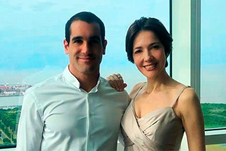 Marcos Yoel Freue y Cristina Pérez