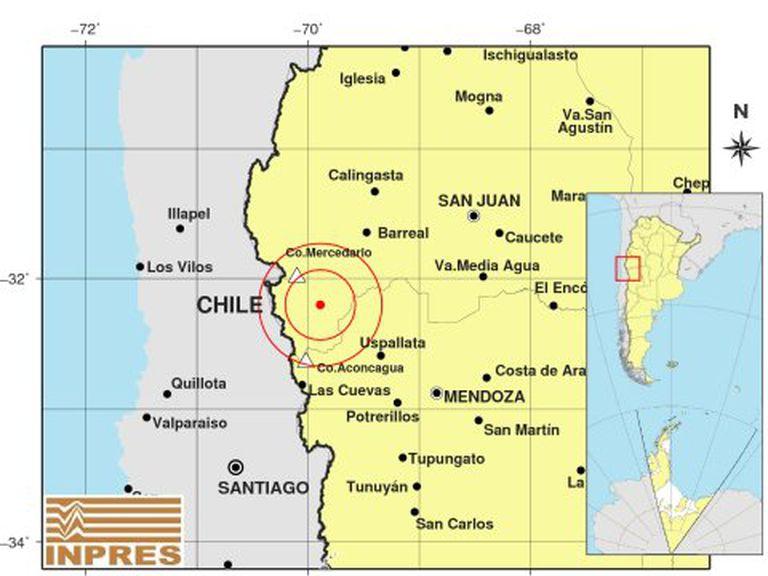 Fuerte temblor: un sismo de magnitud 5,2 sacudió a San Juan, Mendoza y La Rioja