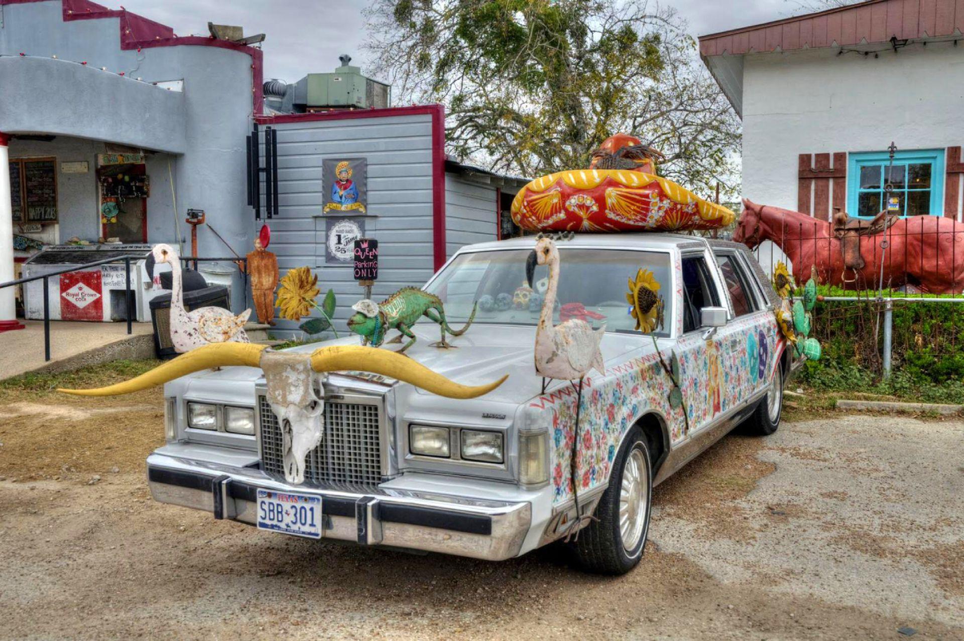 Auto típico decorativo.
