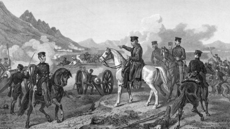 El general Zacarias Taylor avanzó con sus tropas hacia el río Bravo, territorio entonces de México